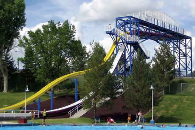 Water slides - London swimming pools with slides ...